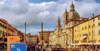 Experiencias Viajeras en Roma, día 1