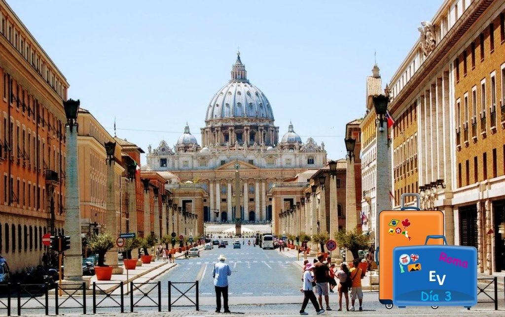 Experiencias Viajeras en Roma, ruta día 3