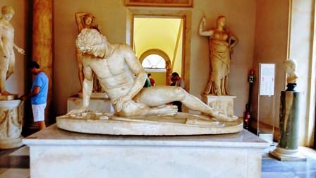 Galata Moribundo, de gran expresividad (Museos Capitolinos)