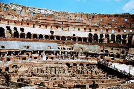 Gradas del Coliseo