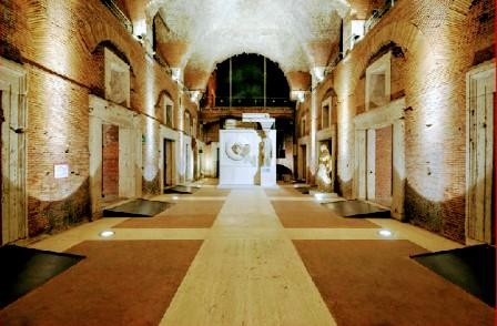 Interior del Museo Foros Imperiales