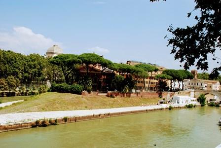Isla Tiberina en Roma