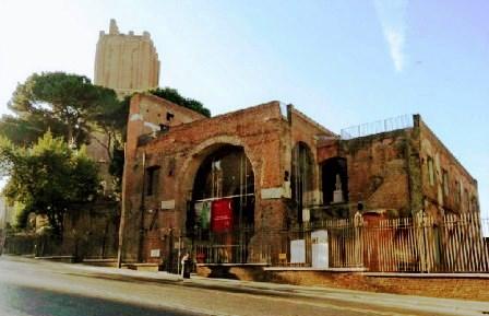 Museo Foros Imperiales, puerta de entrada