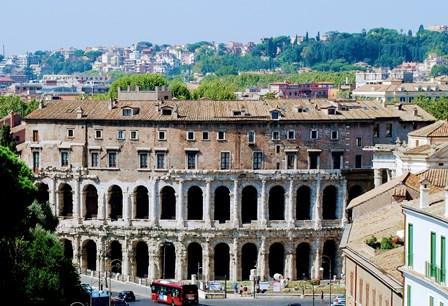 Teatro Marcelo, en el que se inspiró el Coliseo