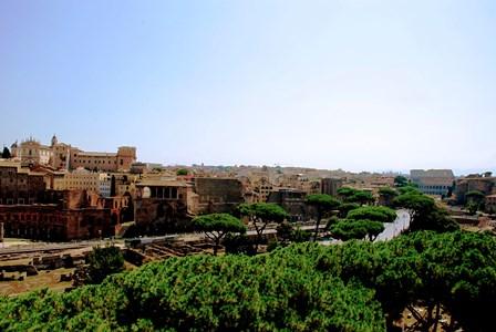 Via de los Foros Imperiales hasta el Coliseo