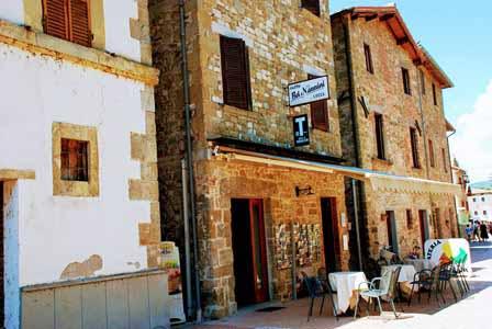 Bar en Isola Maggiore, donde comimos los paninis