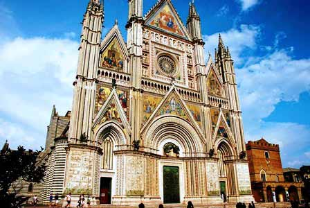 Duomo de Orvieto en Umbría