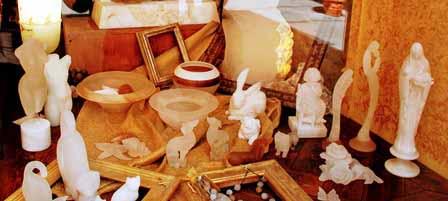 Figuras de alabastro, características de Volterra