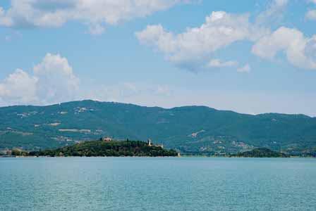 Isola Maggiore en Umbría