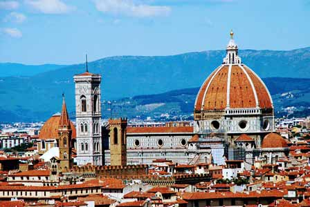 La preciosa catedral de Florencia