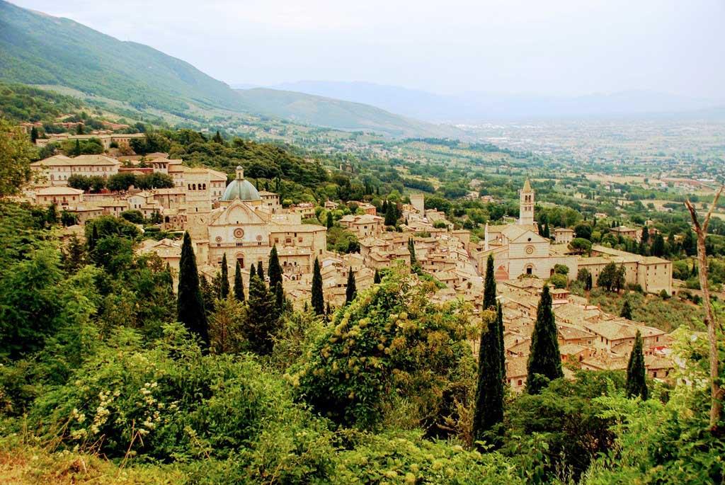 Mapa De La Toscana Y Sus Pueblos.Ruta Por Umbria La Toscana Y Cinque Terre En Coche En 13