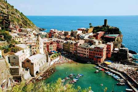 Vernaza desde el sendero que llega a Monterosso al Mare