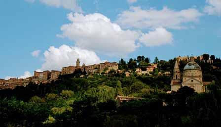 Vistas de Montepulciano desde nuestro precioso agroturismo
