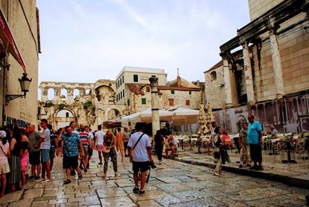 Callejando por el Palacio de Diocleciano de Split (Croacia)