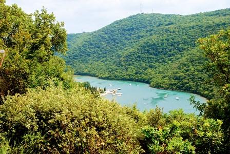 Canal de Lim, el fiordo croata