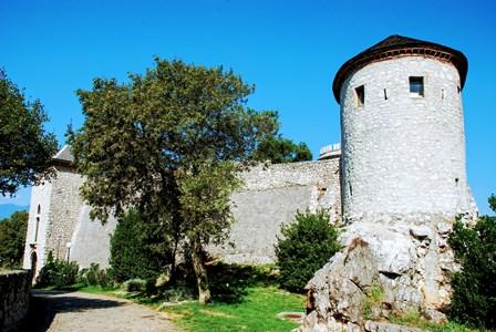 Castillo de Trsat en Rijeka (Croacia)