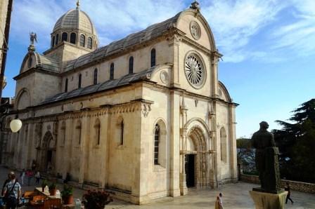 Catedral de Santiago en Sibenik (Croacia)