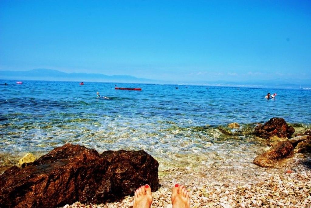 Playa paradisiaca en Croacia