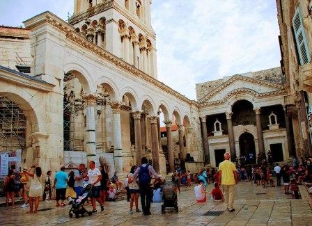 Espectacular Palacio Diocleciano en Split (Croacia)