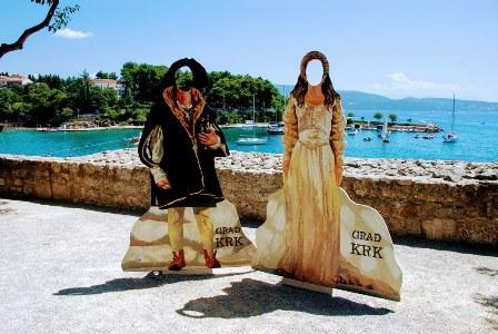 La coqueta ciudad de Krk (Croacia)