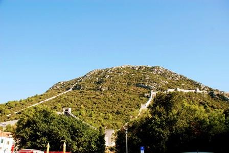 La pequeña muralla china de Ston (Croacia)