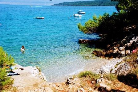 Nuestro trozo de paraiso en Njivice (isla de Krk, Croacia))