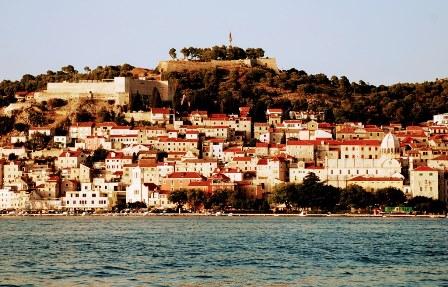 Panorámica de Sibenik (Croacia)