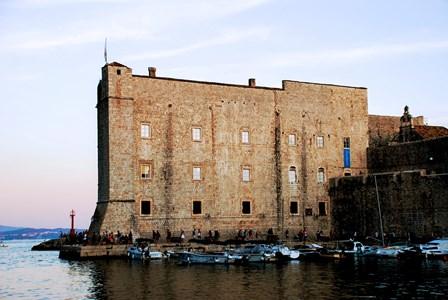 Fuerte de San Juan, actual Museo Marítimo y acuarium de Dubrovnik
