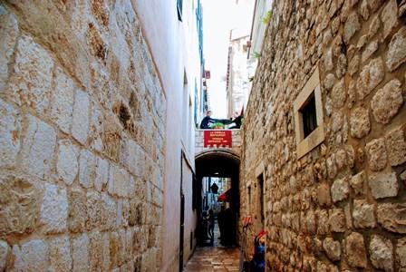 Preciosas callejuelas en Dubrovnik