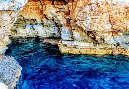 Cueva de Ulises o Odisejeva Spilja en Mljet