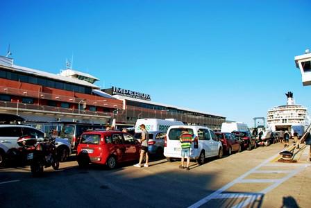 Ferry en Croacia, cómo funciona
