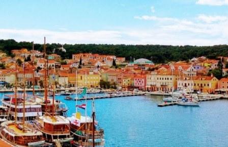 Isla de Losinj en Croacia