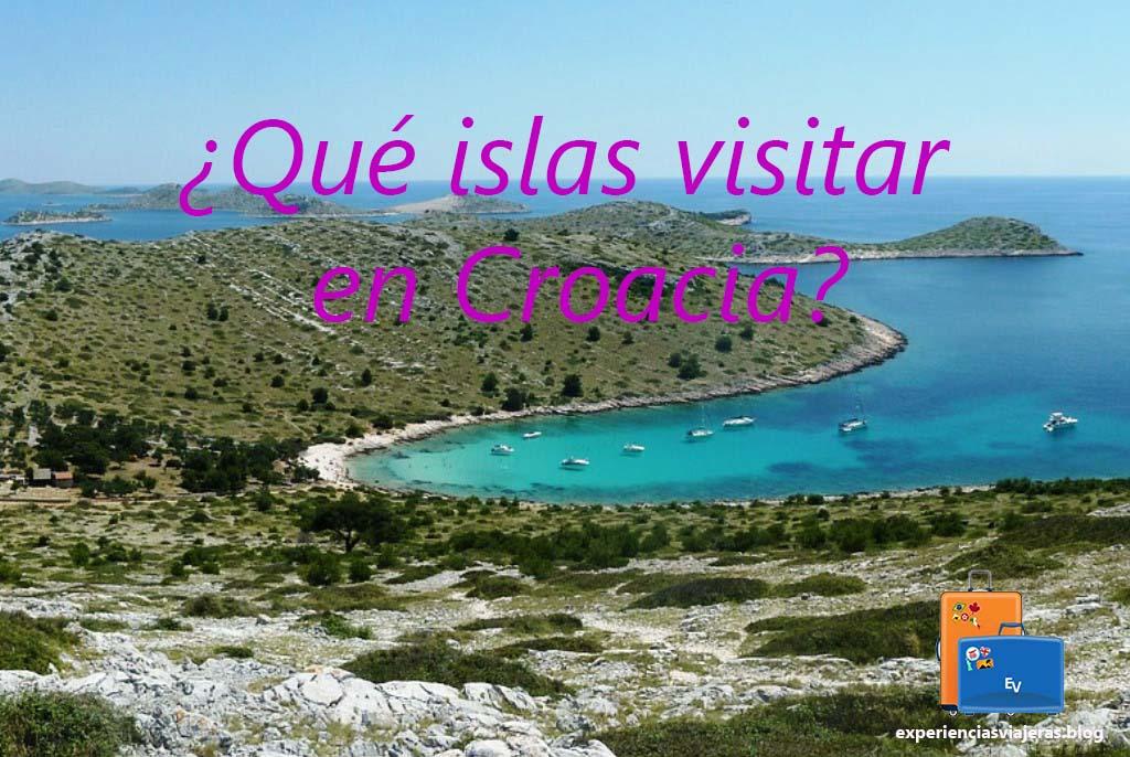 ¿Qué islas visitar en Croacia?
