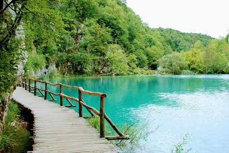 Los lagos inferiores de Plitvice