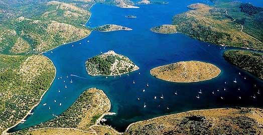 Parque Nacional de las islas Kornati en Croacia