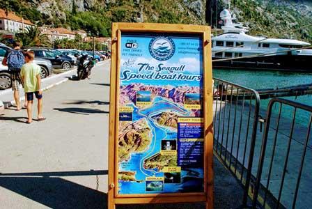 Paseos en barco por la Bahía de Kotor en Montenegro