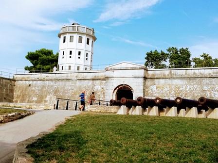 Castillo de Pula, actual Museo Histórico de Pula (Croacia)
