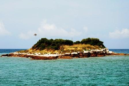 Deshabitadas islas frente a Rovinj (Croacia)
