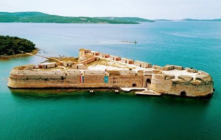 Fortaleza de San Nicolás, Patrimonio de la Humanidad de la Unesco (Sibenik)