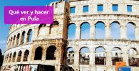 Pula, guía de viaje en Istria (Croacia)