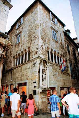 Bonitas callejuelas en Split (Croacia)
