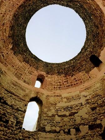 Cúpula abierta del Vestibulo del Palacio de Diocleciano (Split)