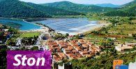 Ston, muralla y ostras (Croacia)
