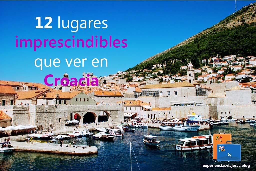 12 lugares imprescindibles que ver en Croacia