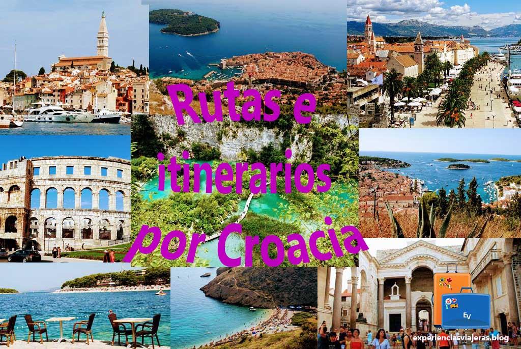 rutas e itinerarios por Croacia